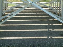 bleachers, shadows 2 (laurakaz) Tags: shadows parks symmetry bleachers twincities