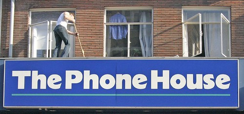 Foto de la fachada de un The Phone House