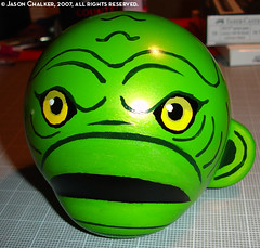 Munny From the Black Lagoon In Progress