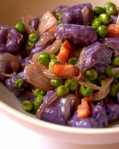 purple congo gnocchi