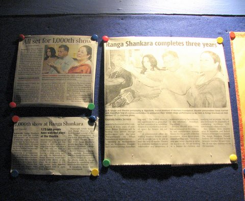 the news clippings