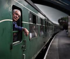 Diesel driver (paul indigo) Tags: portrait diesel transport rail railways traindriver