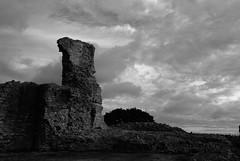 Hadleigh Castle (luns_spluctrum) Tags: blackandwhite bw white black blackwhite interestingness interesting hadleigh hadleighcastle 123bw d80