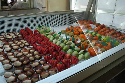 Frutta martorana display