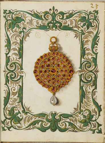 Jewel Book of the Duchess Anna of Bavaria (1550s) f