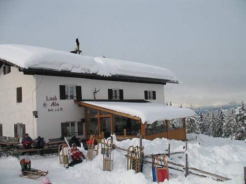 Das Ausflugsziel - die Laab Alm auf 1648 m