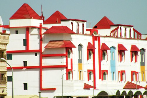 Red & White residential homes