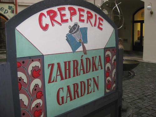 Crepes in Prague