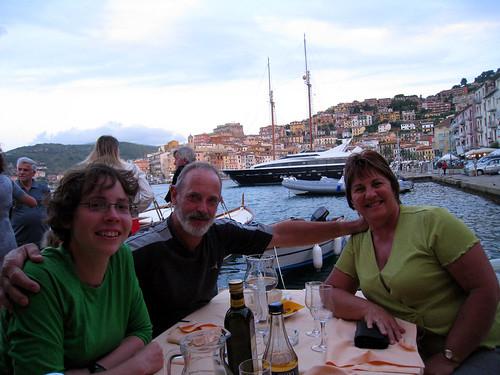 Emma's birthday dinner - Porto Santo Stefano