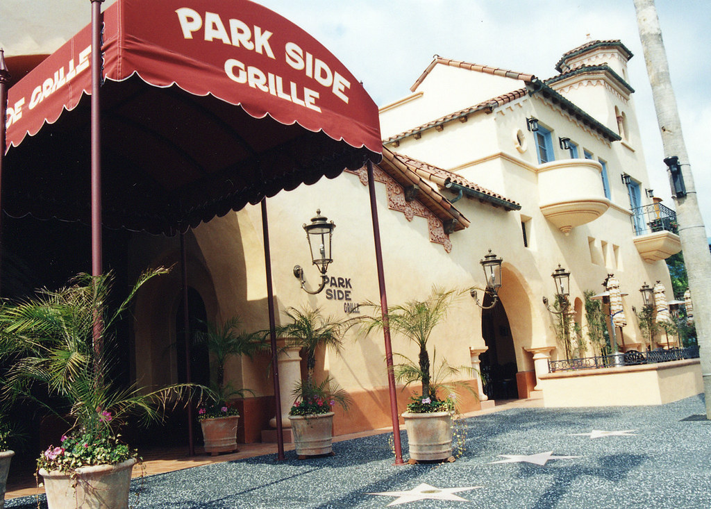 Parkside Grill Hollywood Facade Entrance Canopy