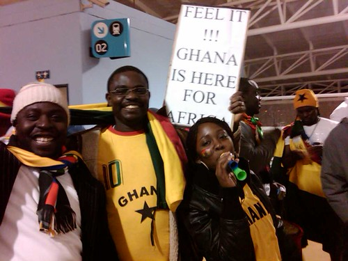 Ghana is here to beat Germany at Soccer City