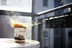 ENGLAND (daniel_willinger_photography) Tags: england cup coffee 35mm still nikon kaffee splash 18 becher caf d300s hferl1star