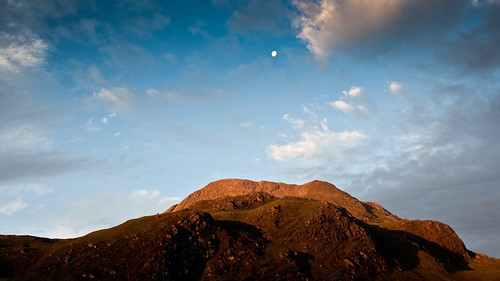 Mars & la lune