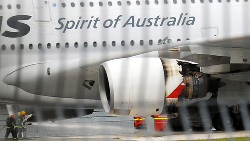 Qantas A380 Engine Failure