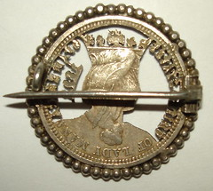 Cutout Isabella Quarter reverse