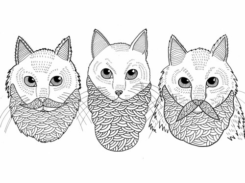 Hsiung---cats_with_beards by Michael C. Hsiung
