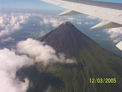 My Mayon from aircraft window (blairduncan58) Tags: mt mayon province albay