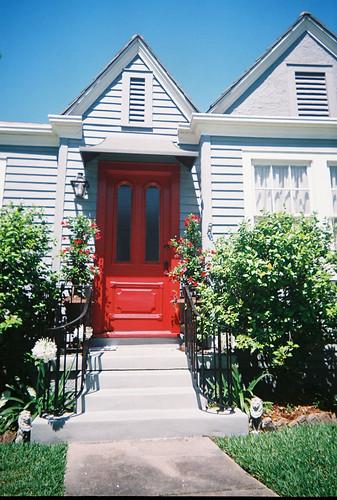 Red Door Cottage on Betz, Old Metairie, Jefferson Parish, Louisiana