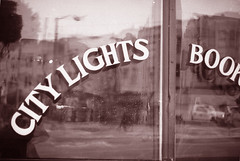 City Lights (mhartford) Tags: sanfrancisco bw bookstore citylights northbeach diafine yashica acros