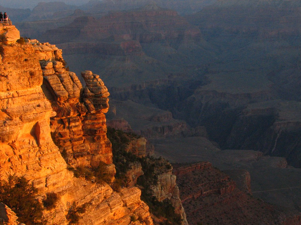 Sunrise at Mather Point - Grand Canyon