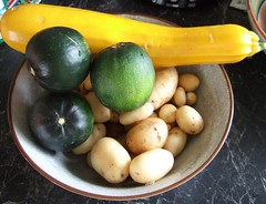 Veg from the garden