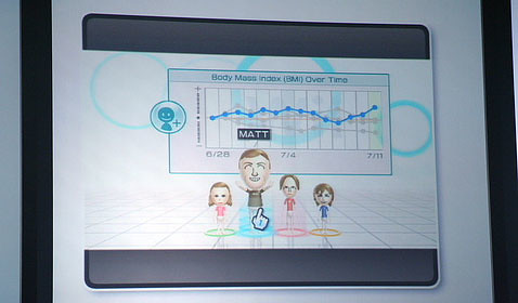 body mass index in wii fit