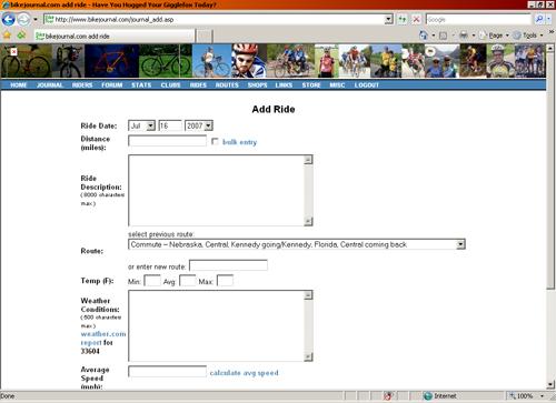 Bikejournal.com screenshot