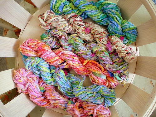 Basketful of Ragamuffin Yarn