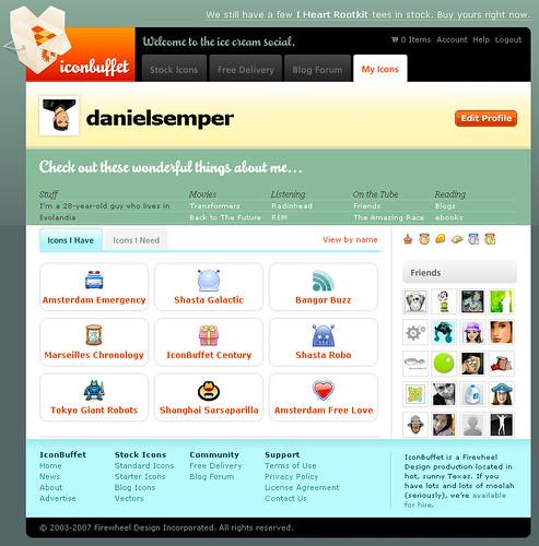 Vista previa de los iconos gratis