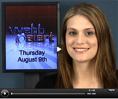 Morgan Webb does Web Alert