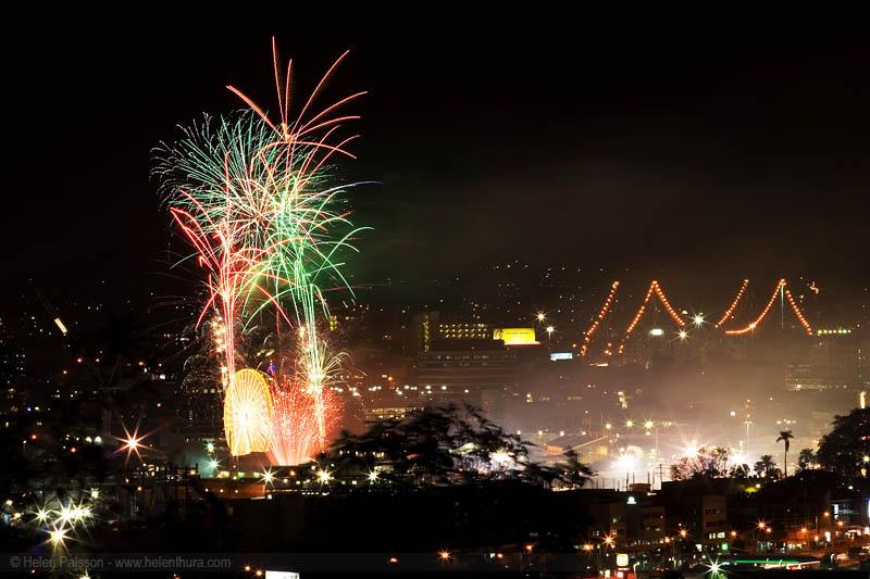 Ekka fireworks night 1