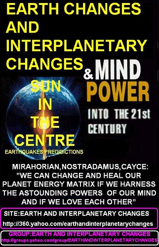 EARTH CHANGES AND MIND POWER 1