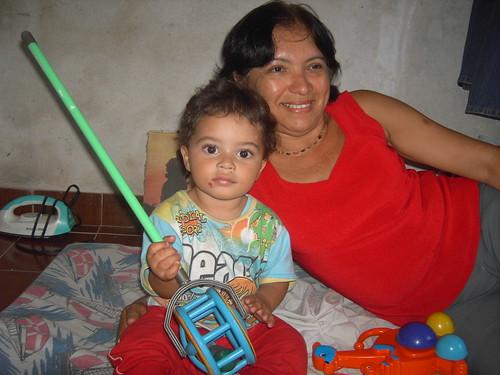 João Roberto e tia Suzana