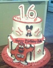 Big Red Birthday Cake