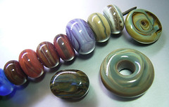 Lampwork Glass BEads (Wendy lee Hearn) Tags: glass beads lampwork morretti vetrofond