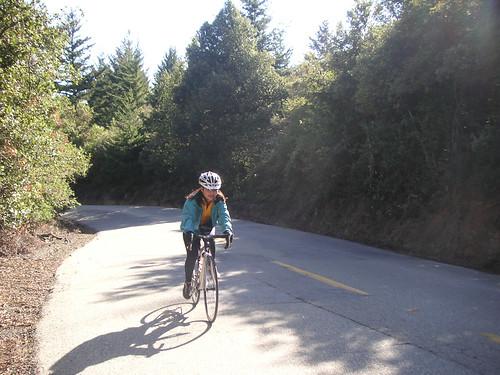Riding Kings Mountain Road