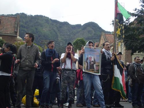 Marcha apoyo a Palestina / Gaza en Bogotá, Colombia - 20090106 - 1061759