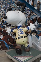 Snoopy as 1939 St Paul Saint