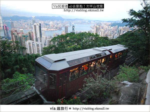 【香港自由行】必推!內有百萬夜景~香港太平山夜景16