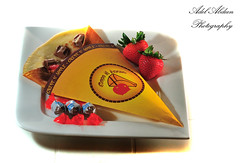 Kinder & strawberry Crepe (PhotoGrapherQ80 KWS) Tags: food apple pie candy sweet crepe yumy adel abdeen firemanq80