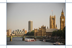 An Evening in London (~FreeBirD~) Tags: city london broken westminster westminsterabbey ferry buildings river boats evening tide ships towers bridges bigben mb byebye thamesriver 2010 freebird faraway cityofwestminster differentmoods yellowtones 7oclock lovemax eveninginlondon manibabbar maniya anevening manibabbarphotography