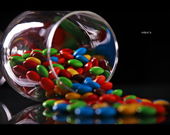 160/365 Y2 - M&M's (Arieseffects) Tags: light reflection glass shadows year2 setup 365 wineglass behindthescenes softbox bts blackbackdrop whitereflector day160of365 canon5dmarkii pocketwizardminitt1 marcellegrizzelle flashpointmonolightwithstriplight