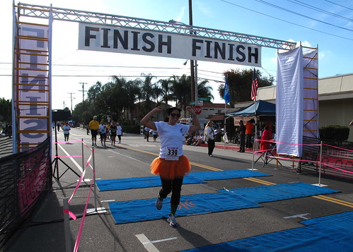 Re-crossing the finish line