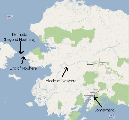 Map of Diomede