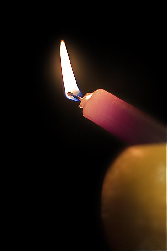 Una vela no se apaga...