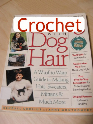 Crochet with Dog Hair