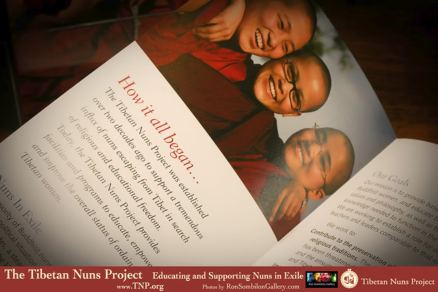 Tibetan Nuns Project-Educating and Supporting Nuns in Exile photos by RonSombilonGallery (16) by Ron Sombilon Gallery