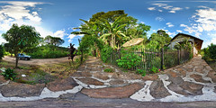 Ibitutinga Station (BongoInc) Tags: brazil panorama station brasil train minas fisheye bananas tropical ptgui saojoaodelrei ibitutingastation