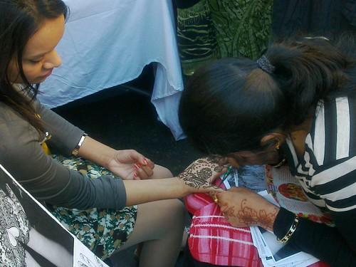 Diwali - Henna Tattoo