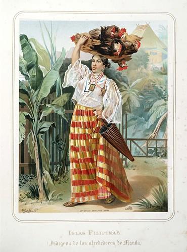 005-Islas de Filipinas-India de los alrededores de Manila-Las Mujeres Españolas Portuguesas y Americanas 1876-Miguel Guijarro